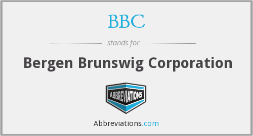 BBC - Bergen Brunswig Corporation