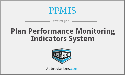 PPMIS - Plan Performance Monitoring Indicators System