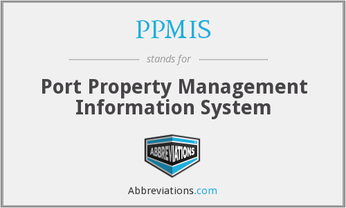 PPMIS - Port Property Management Information System