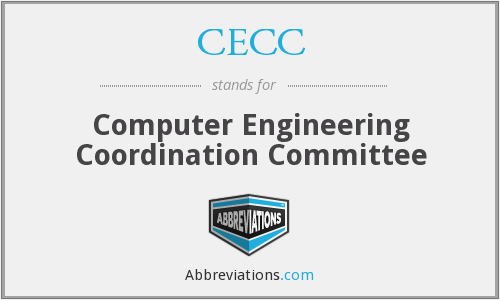 CECC - Computer Engineering Coordination Committee