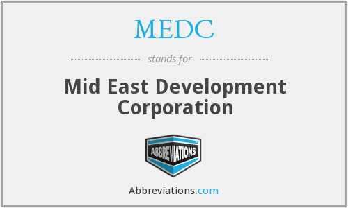 MEDC - Mid East Development Corporation