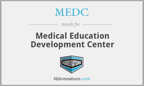 MEDC - Medical Education Development Center