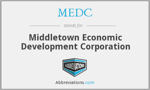 MEDC - Middletown Economic Development Corporation