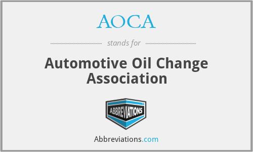 AOCA - Automotive Oil Change Association
