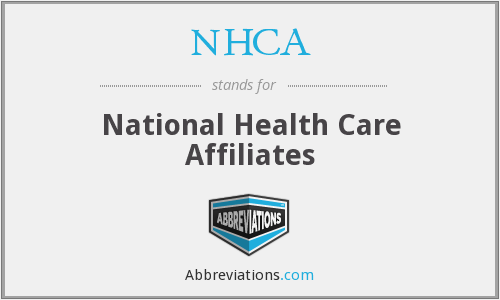 What does NHCA stand for?