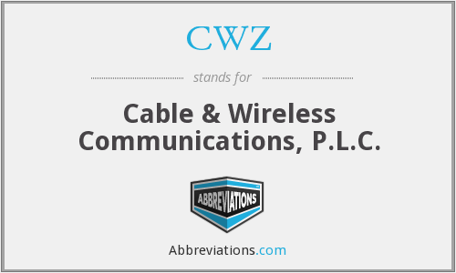 CWZ - Cable & Wireless Communications, P.L.C.