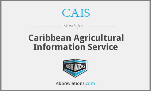 CAIS - Caribbean Agricultural Information Service