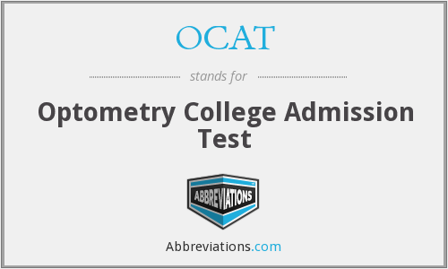 OCAT - Optometry College Admission Test