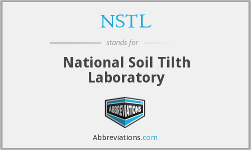 NSTL - National Soil Tilth Laboratory
