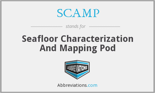 SCAMP - Seafloor Characterization And Mapping Pod