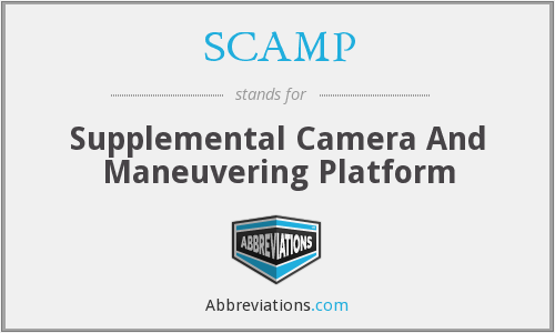 SCAMP - Supplemental Camera And Maneuvering Platform