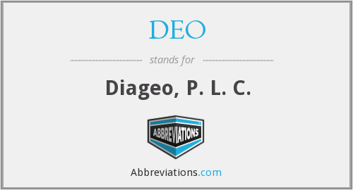 DEO - Diageo, P. L. C.