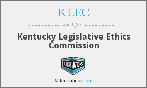 KLEC - Kentucky Legislative Ethics Commission