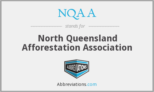 NQAA - North Queensland Afforestation Association