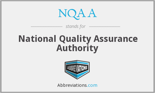 NQAA - National Quality Assurance Authority