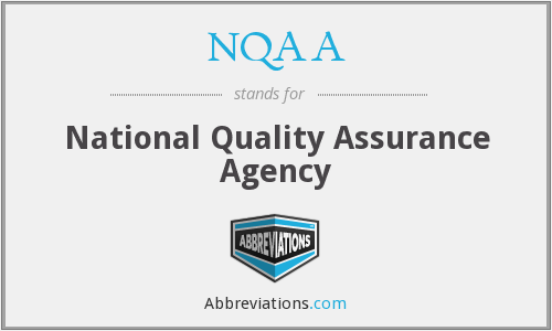 NQAA - National Quality Assurance Agency