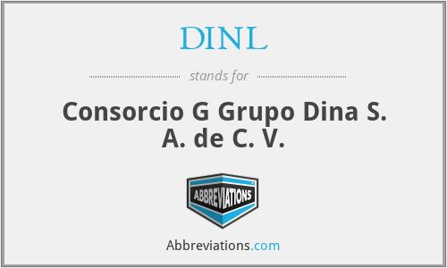 DINL - Consorcio G Grupo Dina S. A. de C. V.