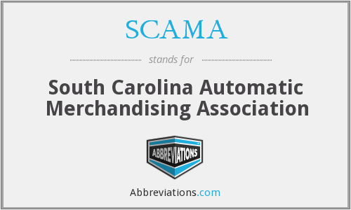 SCAMA - South Carolina Automatic Merchandising Association