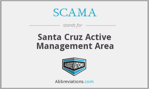 SCAMA - Santa Cruz Active Management Area