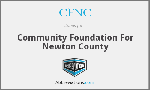 CFNC - Community Foundation For Newton County