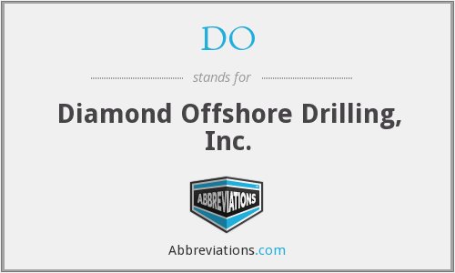DO - Diamond Offshore Drilling, Inc.