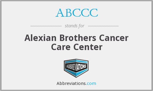 ABCCC - Alexian Brothers Cancer Care Center