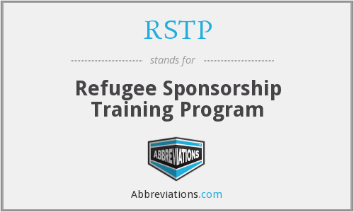 RSTP - Refugee Sponsorship Training Program