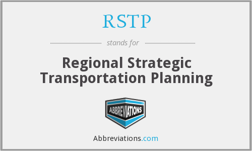 RSTP - Regional Strategic Transportation Planning
