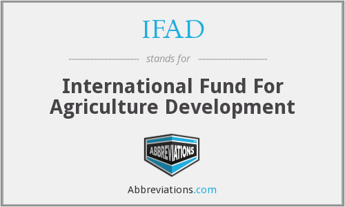 IFAD - International Fund For Agriculture Development