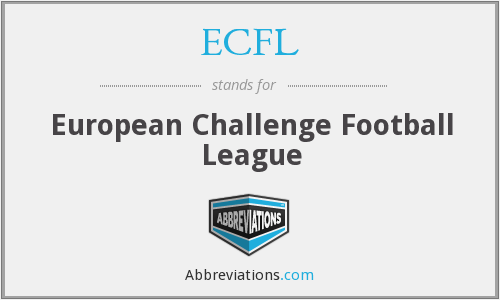 ECFL - European Challenge Football League
