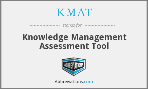 What does KMAT stand for?