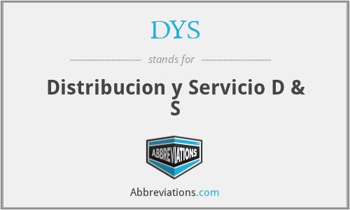 DYS - Distribucion y Servicio D & S