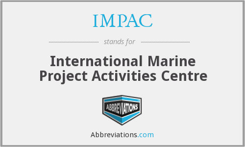IMPAC - International Marine Project Activities Centre