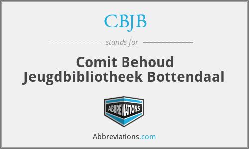 CBJB - Comit Behoud Jeugdbibliotheek Bottendaal