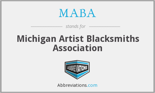 MABA - Michigan Artist Blacksmiths Association