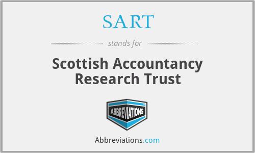 SART - Scottish Accountancy Research Trust