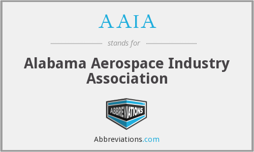 AAIA - Alabama Aerospace Industry Association