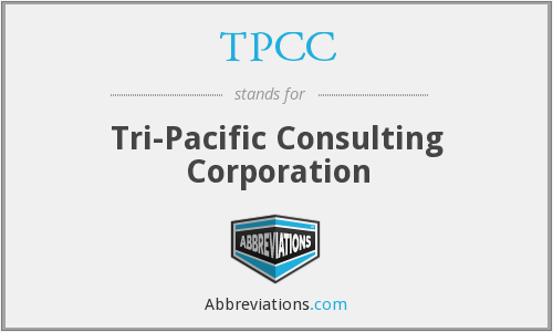TPCC - Tri-Pacific Consulting Corporation