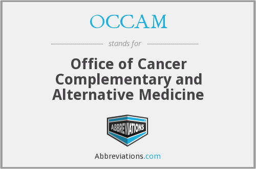 OCCAM - Office of Cancer Complementary and Alternative Medicine