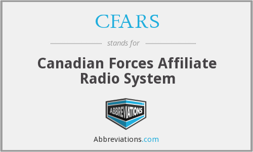 What does CFARS stand for?