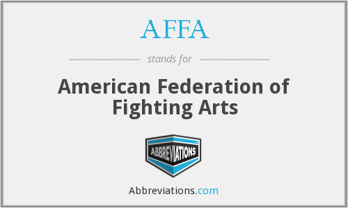 AFFA - American Federation of Fighting Arts