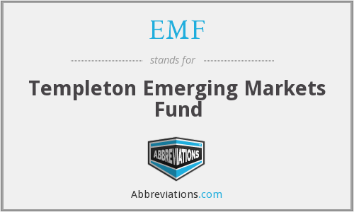 EMF - Templeton Emerging Markets Fund