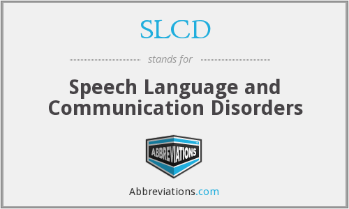 What does SLCD stand for?