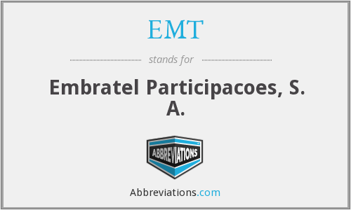 EMT - Embratel Participacoes, S. A.