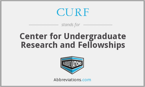 CURF - Center for Undergraduate Research and Fellowships