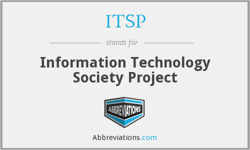 ITSP - Information Technology Society Project