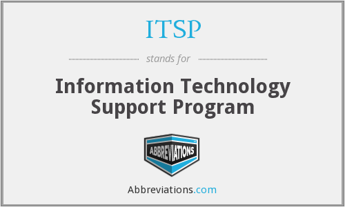 ITSP - Information Technology Support Program