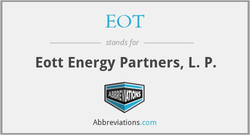 EOT - Eott Energy Partners, L. P.
