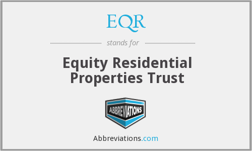 What does EQR stand for?