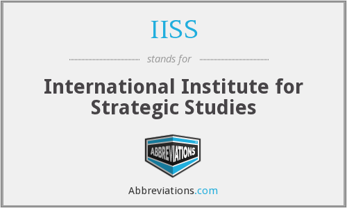 IISS - International Institute For Strategic Studies